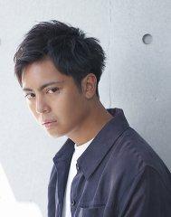 【BREEN原宿】ビジネス黒髪短髪刈り上げアップバング