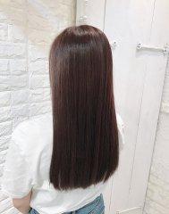 ブロー縮毛矯正☆くせ毛、うねりをカバー