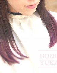 派手可愛い!ぴんく紫グラデーションカラー