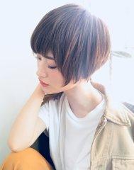 大人かわいい小顔ショート/PARADISOleplus早川