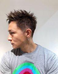 短髪スタイリッシュスタイル