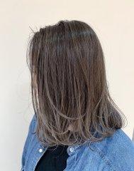 【LUCK Hair Space】バレイヤージュ×グレージュ