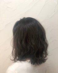 【reir下北沢】*シフォンミディ+チャコールアクアマランス