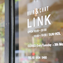 hair&chat Link(ヘアーアンドチャットリンク)