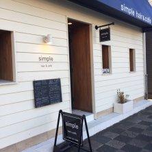 simple hair&cafe(シンプルヘアアンドカフェ)