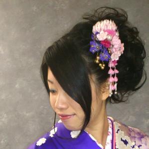 ヘアセット&メイク&振袖着付け&撮影(写真2枚組アルバム) ¥32550