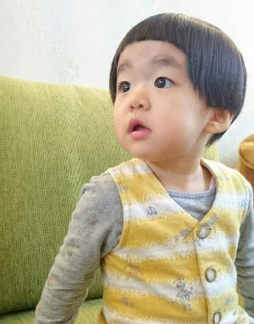 ぱっつん前髪でかわいいキッズスタイル【大阪府】