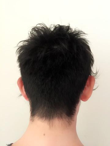後ろ刈り上げグラデーションカット(メンズ版)