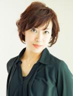 ☆50代素敵ミセス☆華やかショートボブ