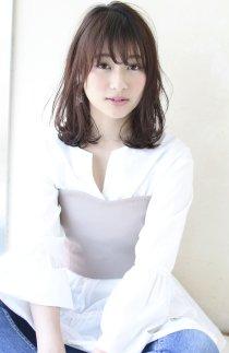 小顔似合わせカット大人カジュアルデジタルパーマ【y−164】